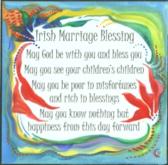 Awesome Irish Blessing For Wedding Gallery - Styles & Ideas 2018 ...